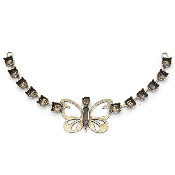 29ss,24ss,Navette 15X4mm Butterfly Piece for Necklace
