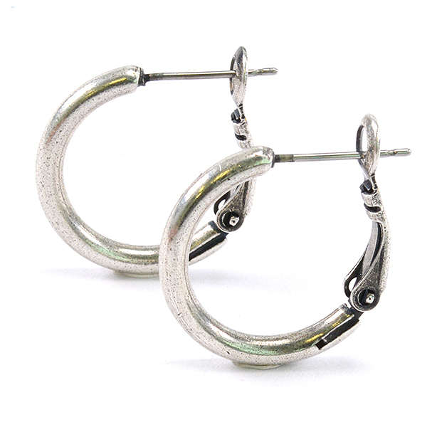 20mm Plain hoop earrings (small size)