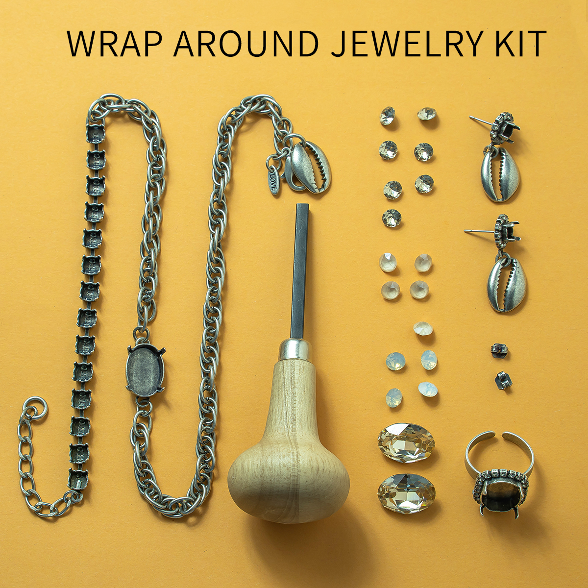 Wrap around jewelry DIY Kit