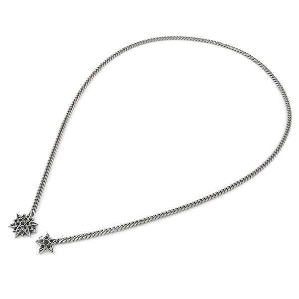 Star front clasp Necklace