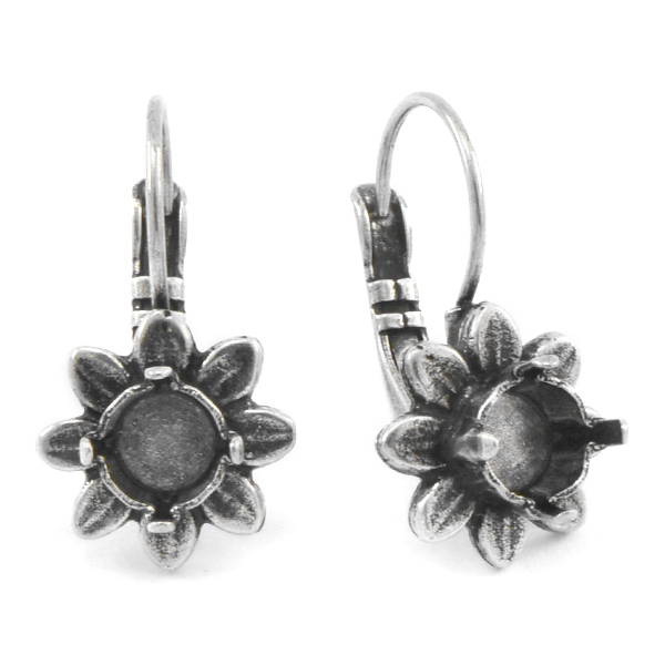 29ss Flower Leverback Earring settings