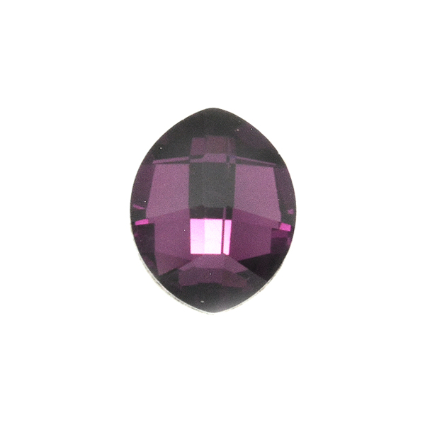 Swarovski 4224 Pure Leaf 10X8mm Amethyst color