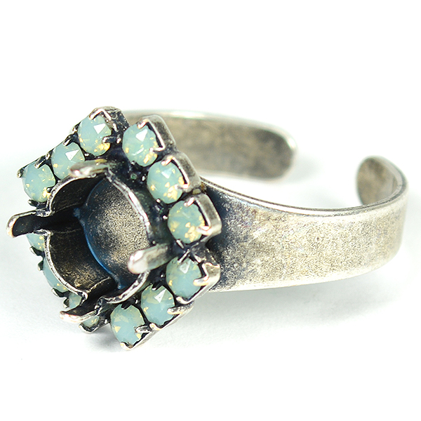 39ss/8mm Ring base with Swarovski rhinestones