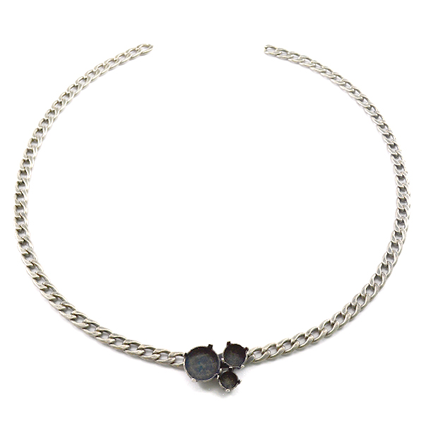 Rivoli 12mm,39ss and 29ss setting Gourmet Necklace base