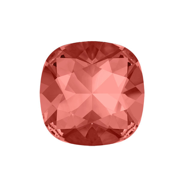 Padparadscha color Swarovski 4470 12-12mm