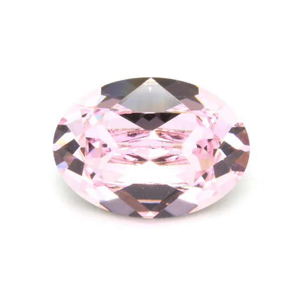 Swarovski 4120 Oval 10x14mm Rosaline color