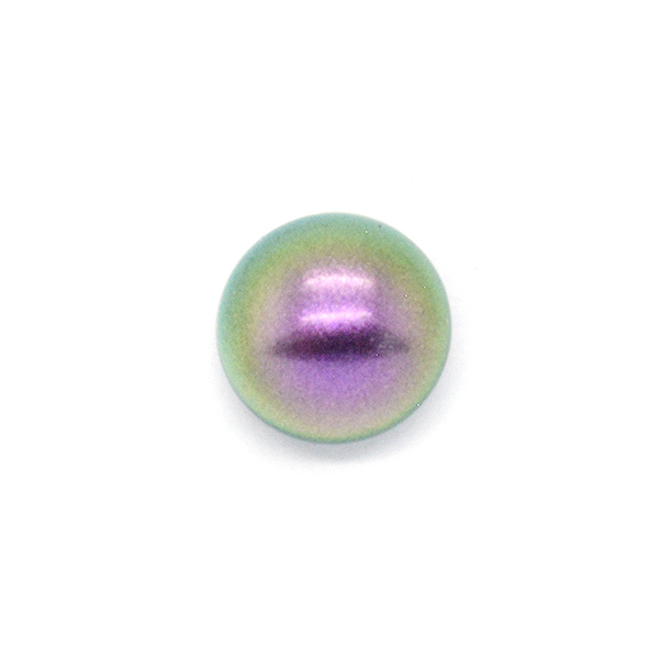 8mm Crystal Iridescent Purple Pearl color pearls Swarovski