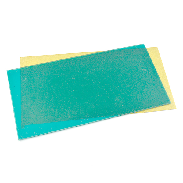 Wax sheet for picking the crystals
