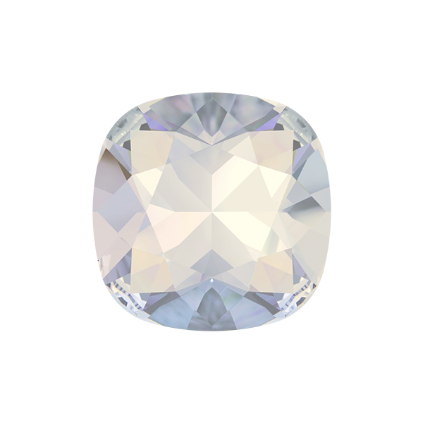 White Opal color 12x12mm Square 4470 Swarovski