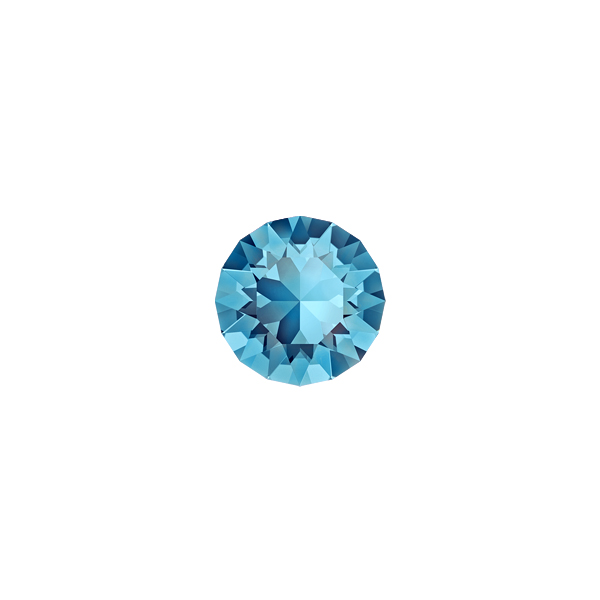 29ss Aquamarine color Swarovski 1028