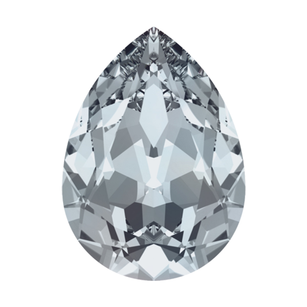factory authentic beautiful style cheapest sale Envelope of 18x13mm Pear shape 4320 Swarovski Crystal Blue Shade color - 12  pcs pack