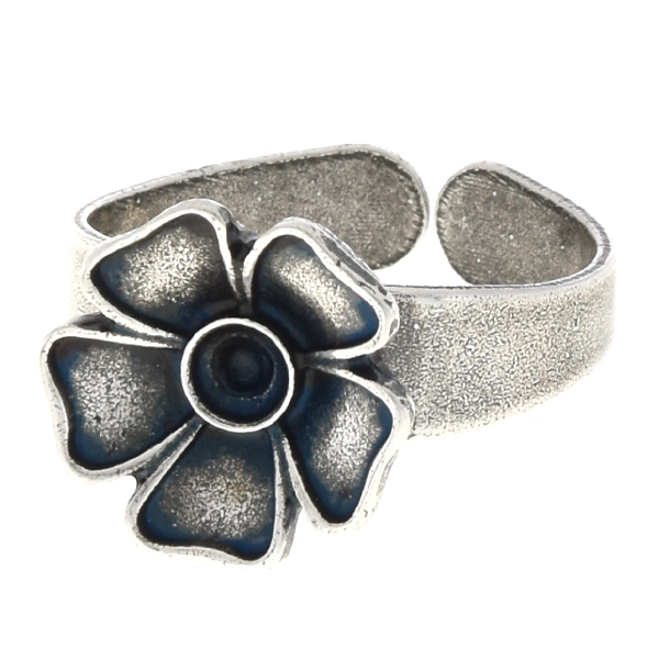 24pp Metal flower adjustable ring base