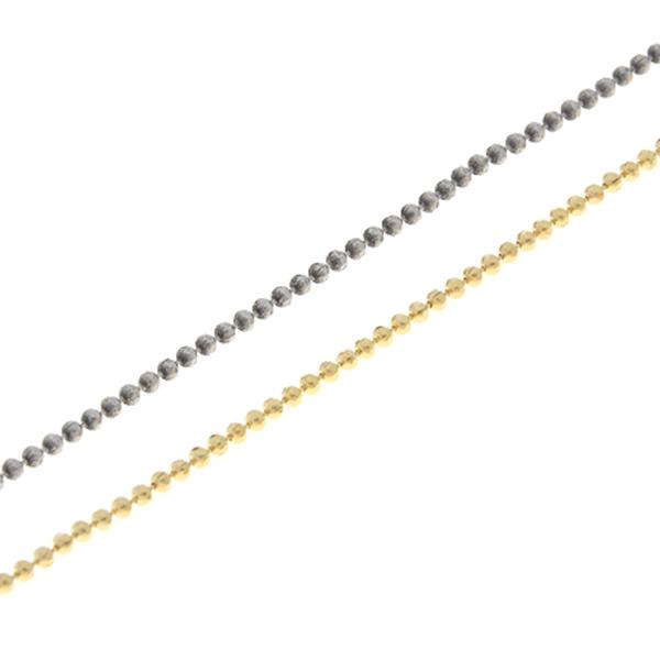 72faac32954e9 2mm Faceted Ball chain - 1 meter