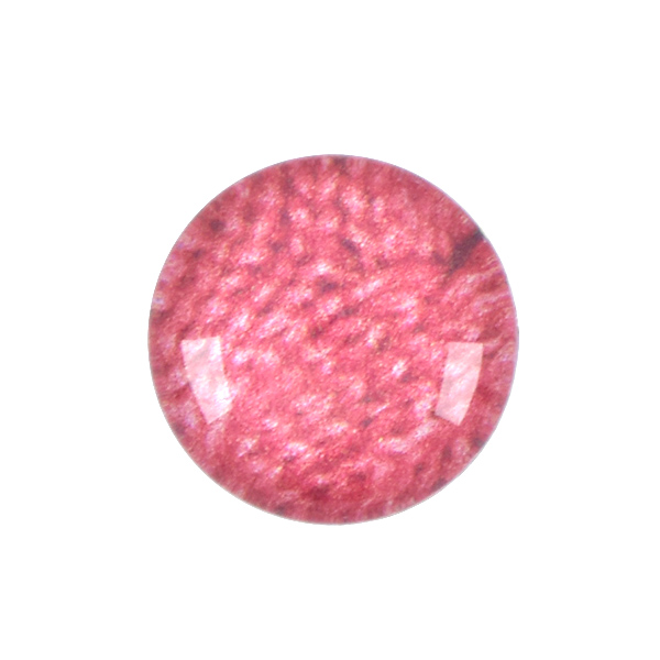 12mm Rivoli Flat back Printed Cabochons with Red Knitted Background - 5pcs pack