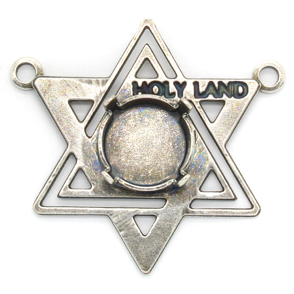 Magen David Star pendant base with Holy Land meaning