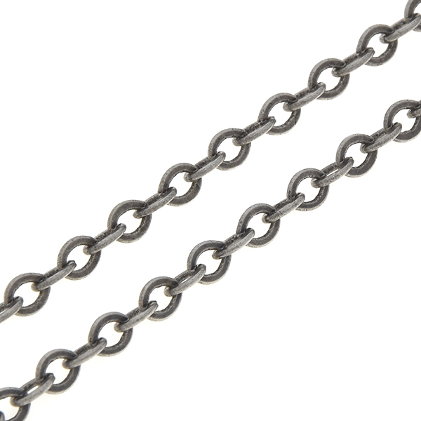 4.9x3.8mm Oval link chain