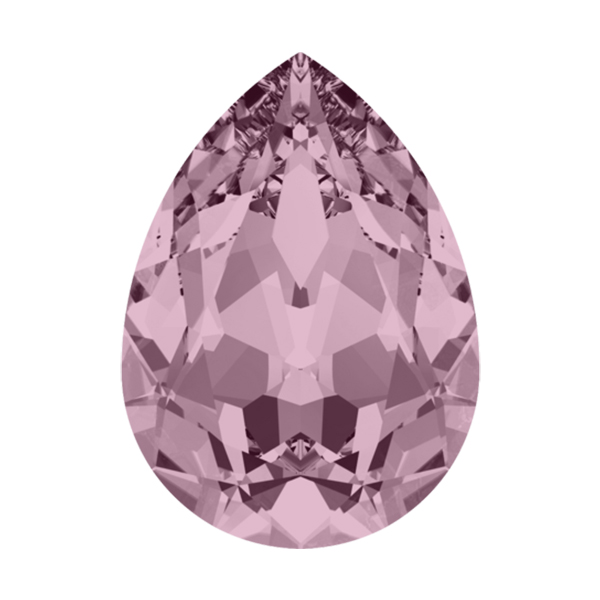 be3b848eb sorry it's currently out of stock.........contact us. Envelope of 18x13mm  Pear shape 4320 Swarovski Crystal Antique Pink ...