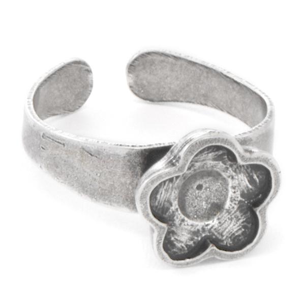 8d166c318 10mm Flower Adjustable Ring base. 5010888. Description & Settings