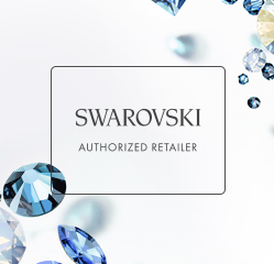 left side banners - swarovski element